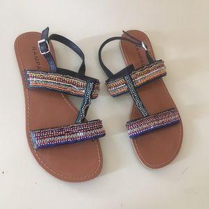 Rampage strap sandals size 7